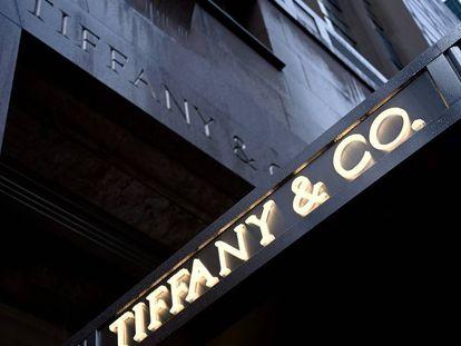 Fachada de la joyería Tiffany en la Quinta Avenida en Nueva York.