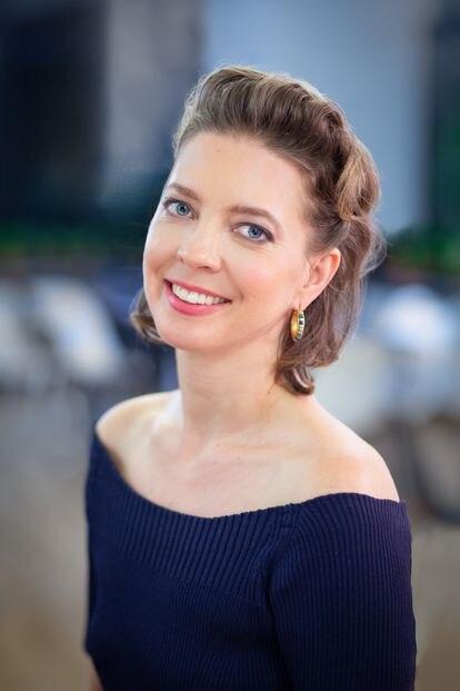 Megwyn White, sexóloga, entrenadora sexual y actualmente directora de Educación de Satisfyer