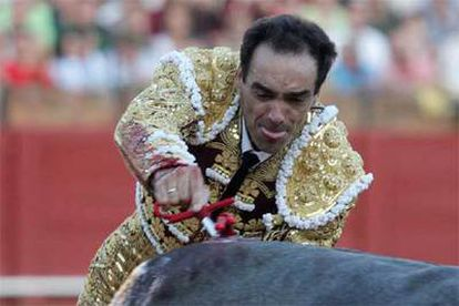 El Cid, ayer en La Maestranza.