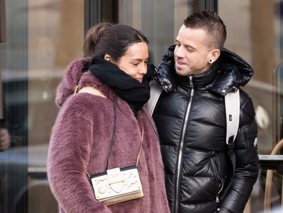Cristina Pedroche y David Muñoz, en París el pasado diciembre.