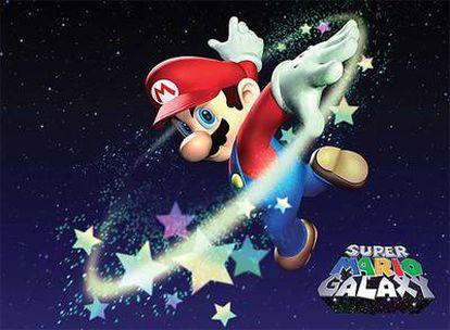 'Super Mario Galaxy', premio al mejor videojuego del año concedido por la industria británica