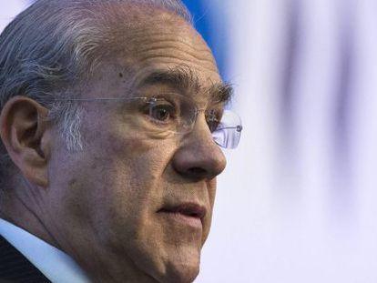 El secretario general de OCDE, José Ángel Gurría.