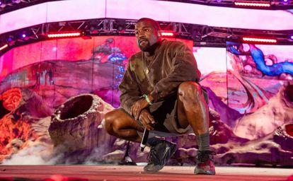 Kanye West, en Festival de Coachella de este 2019.