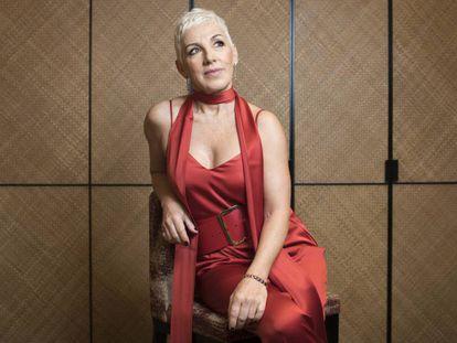Ana Torroja, durante la entrevista.