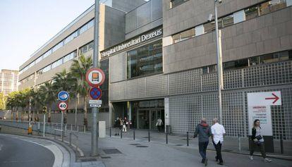 Fachada del Hospital Universitario Dexeus, anteriormente llamado Instituto Dexeus.