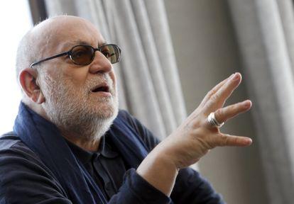 Imagen de 2016 del escenógrafo y director de teatro y cine Gerardo Vera, fallecido el pasado domingo.