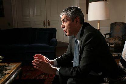 El jefe del Gobierno portugués, durante una entrevista en noviembre de 2007.