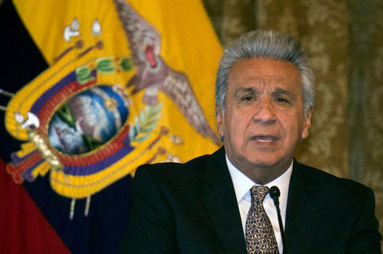 Lenín Moreno, presidente de Ecuador, en una imagen de marzo.