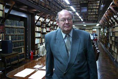Pedro Luis Barcia, presidente de la Academia Argentina de Letras.