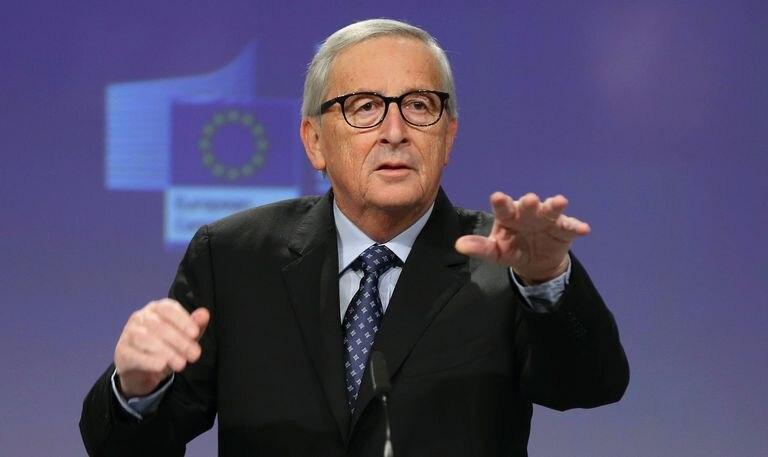 Jean-Claude Juncker, en su última conferencia de prensa antes de ceder el puesto a Ursula von der Leyen, el pasado noviembre en Bruselas.