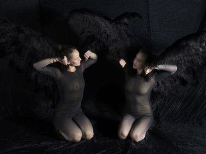 Obra de teatro Vuelos, de la compañía Aracaladanza.