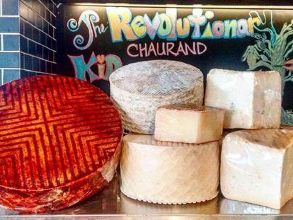 Los quesos de Javier Chaurand.