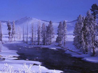 El río Salmón a su paso por Stanley en Idaho.