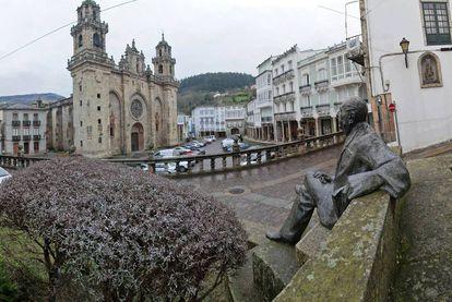 Plaza de la Catedral de Mondoñedo.