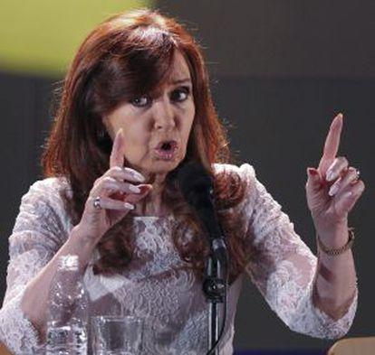 La presidenta argentina, Cristina Fernández.