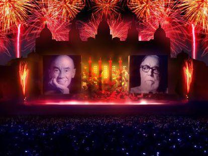 El piromusical de la Mercè d'enguany tancarà la celebració del Tricentenari.