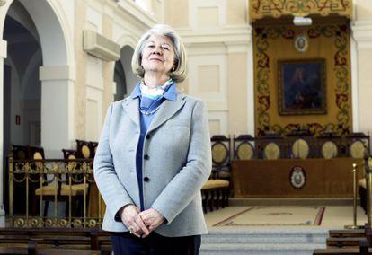 María Teresa Miras Portugal, presidenta de la Real Academia Nacional de Farmacia, en 2012.