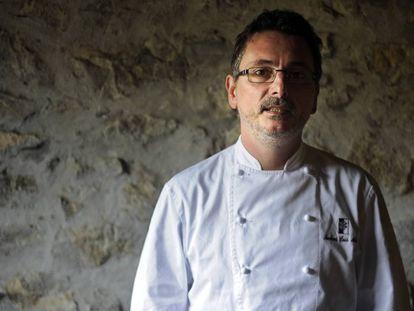 Andoni Luis Aduriz en la oscuridad del futuro de los restaurantes.