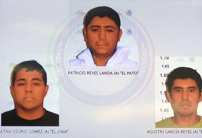 Los responsables del asesinato de los estudiantes, según la fiscalía