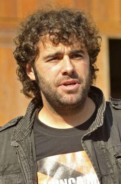 El alcalde de Manzaneda, David Rodríguez.