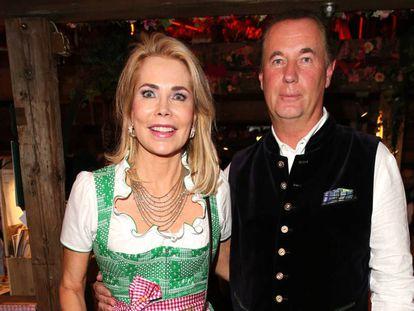Gabriela Thyssen y Jürgen Kellerhaus.