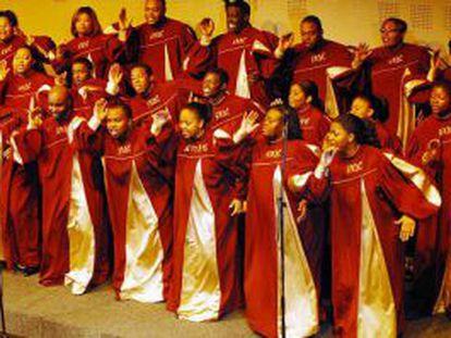El Alabama Gospel Choir actúa en el Auditori