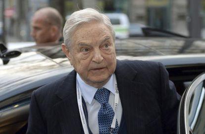 El magnate estadounidense George Soros, el pasado 6 de febrero en Múnich.