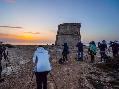 Una imagen de las actividades de Formentera Fotográfica.