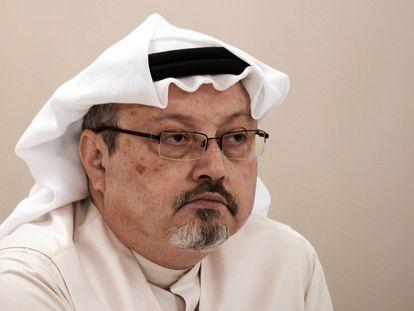 El periodista Jamal Khashoggi en una imagen de 2014 tomada en Manama, Baréin.