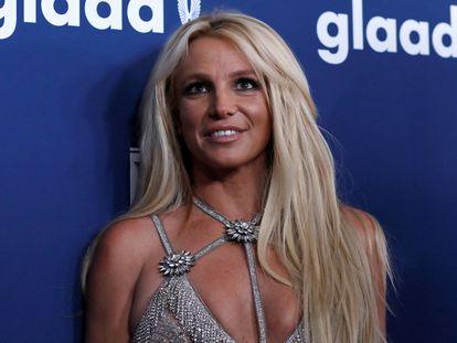 Britney Spears, en una gala en California en abril de 2018.
