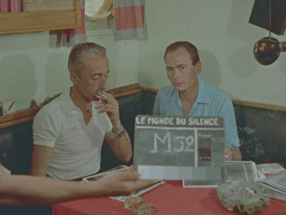 Liz Garbus recuerda el rodaje de 'El mundo del silencio' (1956), ganadora de la Palma de Oro del festival de Cannes y del Óscar al mejor documental.