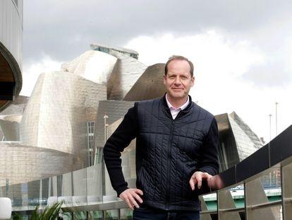 Christian Prudhomme, director del Tour de Francia, la semana pasada en Bilbao.