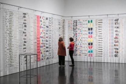 La obra de Eugènia Balcells 'SupermercART' (1976) que se expuso en la sala Vinçon y que fue adquirida por Rafael Tous que desde ahora se puede ver en el Macba.