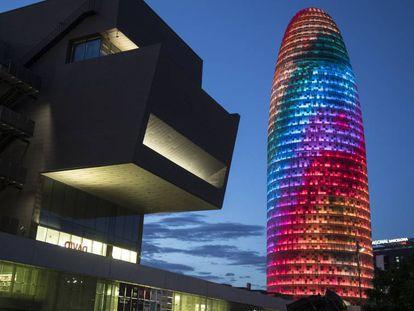 La Torre Glòries, en Barcelona.