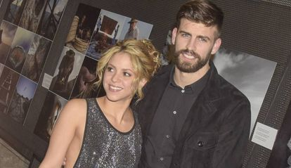 Shakira y Gerard Piqué en la 'Festa De Esport Catala 2016 Awards'.