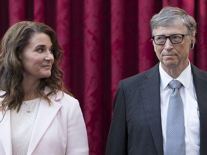 Bill y Melinda Gates, en una imagen de archivo.