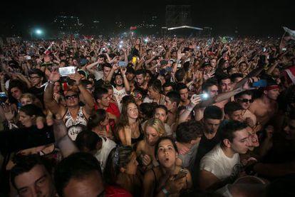 El Barcelona Beach Festival reunió a unas 30.000 personas.