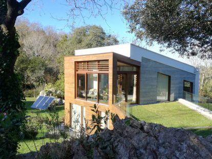 Casa EntreEncinas, en Asturias.