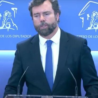 """Polémica por esta frase de Espinosa de los Monteros sobre el """"aspecto personal"""" de Yolanda Díaz"""