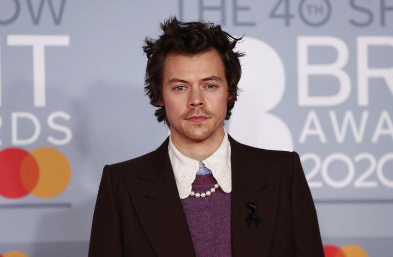 Harry Styles, en los Brit Awards en Londres el pasado febrero.
