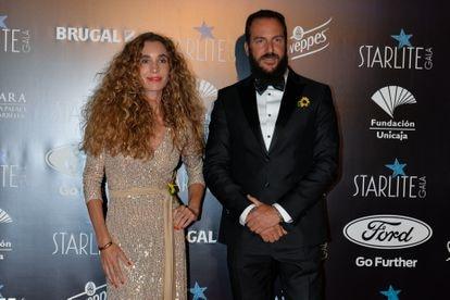 Borja Thyssen y Blanca Cuesta en el Starlite Festival de Marbella el 11 de agosto de 2019.