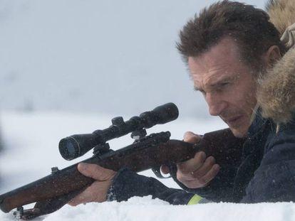 Neeson, en un momento de 'Venganza bajo cero'.