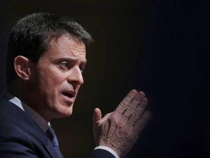 El candidato a las primarias socialistas en Francia, Manuel Valls.