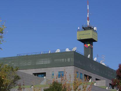 Sede de Telemadrid en la Ciudad de la Imagen de Pozuelo de Alarcón.