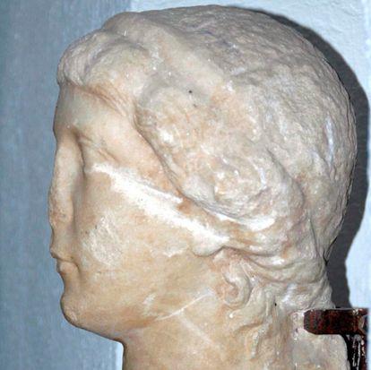 Busto de Antonia la Menor, madre del emperador Claudio.