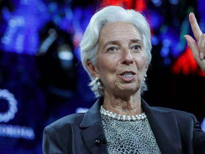 Christine Lagarde,directora generente del FMI