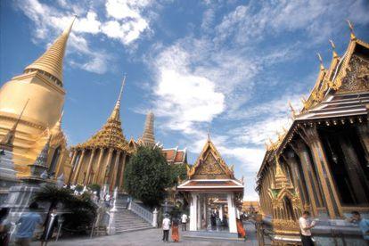 El templo del Buda Esmeralda en Bangkok (Tailandia), construido en 2872.