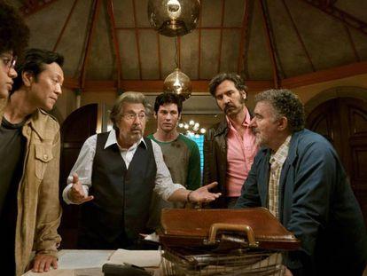 En vídeo, el tráiler de la serie 'Hunters'.