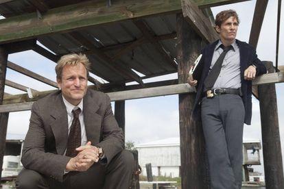Woody Harrelson y Matthew McConaughey en la primera temporada de 'True Detective'.