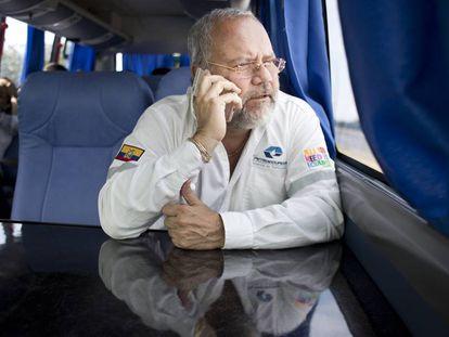 Carlos Pareja Yanuzzelli, exministro de Hidrocarburos.